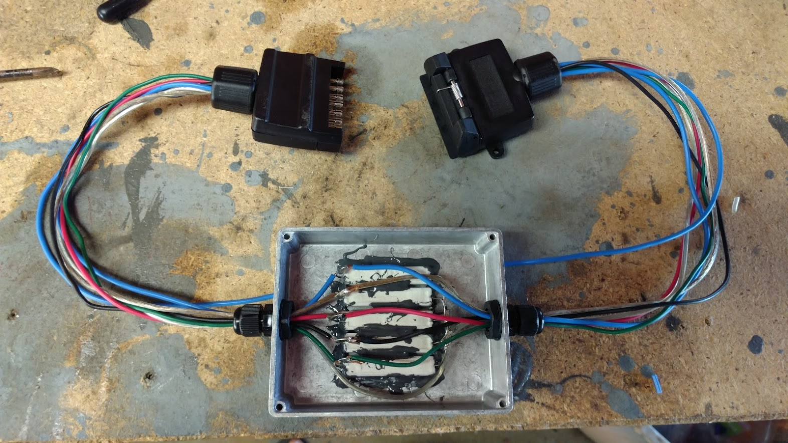 Diy Led Load Resistors For Trailer With Led Lights Club Touareg Forum