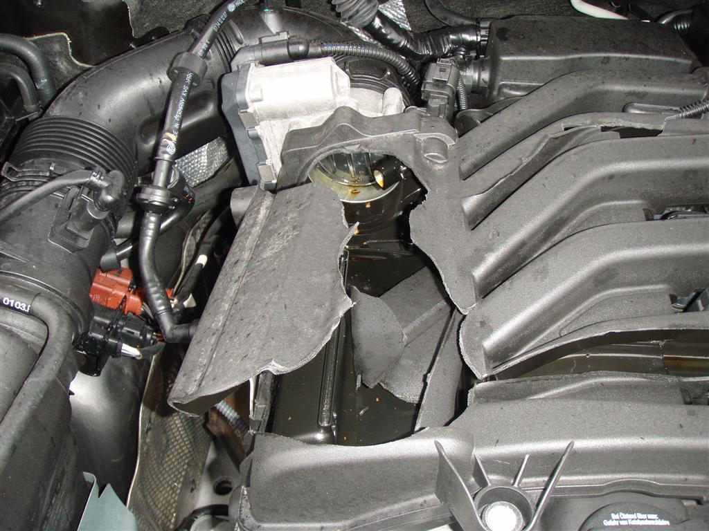 vw touareg intake manifold replacement