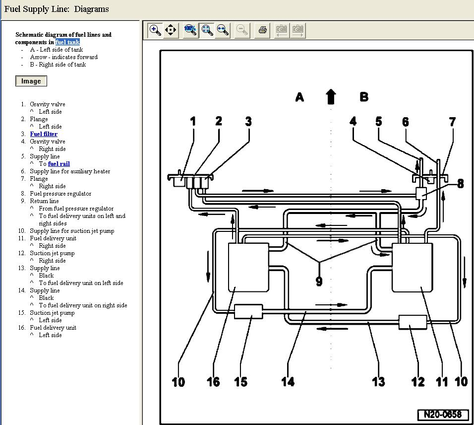 06 touareg in tank fuel line routing club touareg forums. Black Bedroom Furniture Sets. Home Design Ideas