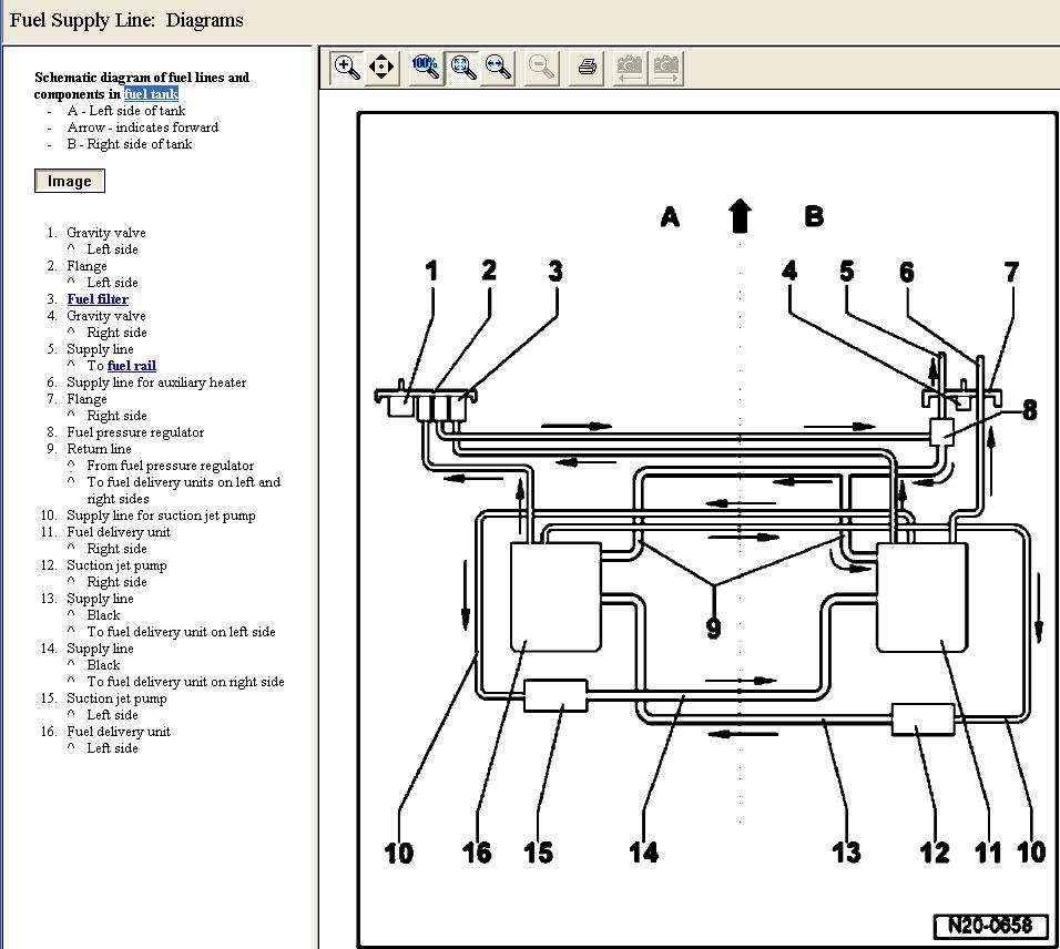 Volkswagen Fuel Pump Diagram : Vw touareg fuel diagram jetta gl elsavadorla