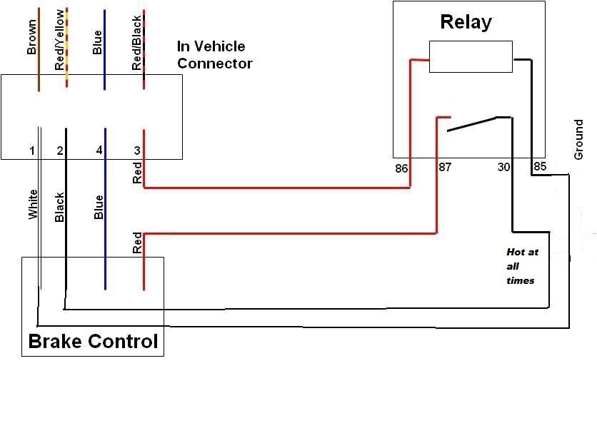 prodigy brake control wiring diagram images brake controller brake controller basics prodigy solution page 2 club touareg
