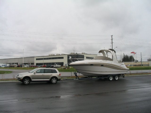 Towing A 28ft Boat  | Club Touareg Forum