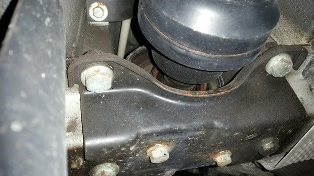 Replace your failing bearing support | Club Touareg Forum