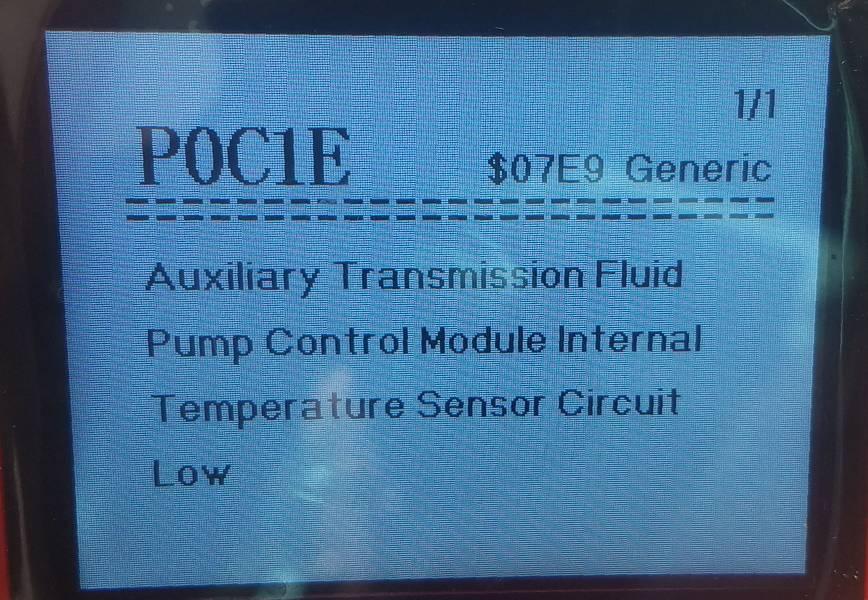 Hybrid Transmission fault code | Club Touareg Forum