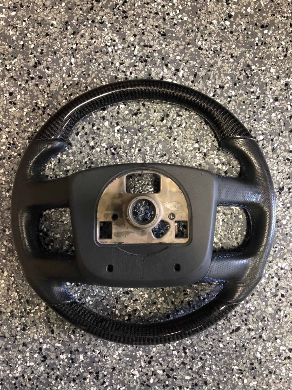 For Sale: - Custom Carbon Fiber steering wheel | Club