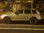 Volkswagen Touareg night shot