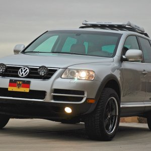 2006 Touareg With 4.2l V8 And Air Suspension